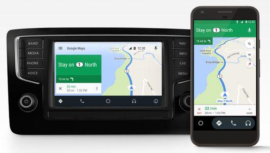 Система андроид Auto откомпании Google будет доступна нателефонах