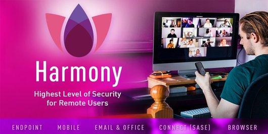 Check Point Harmony создана для защиты удаленных сотрудников