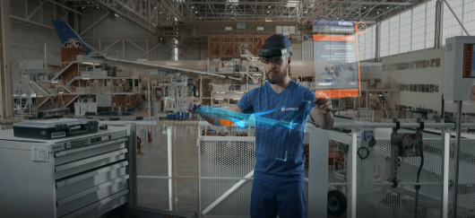 Смешанная реальность Microsoft помогает Airbus повысить эффективность производства