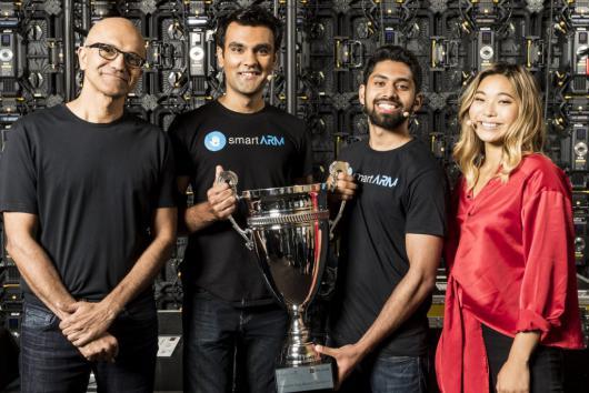 Канадский проект smartARM победил в престижном студенческом конкурсе