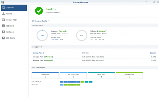 Synology обновила платформу DiskStation Manager