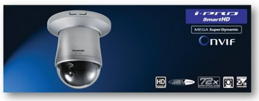 Камера видеонаблюдения Panasonic WV-SW396  работает при -50 С