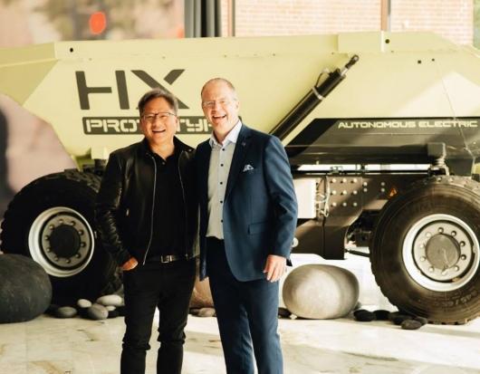 Volvo строит автомобили на платформе Nvidia