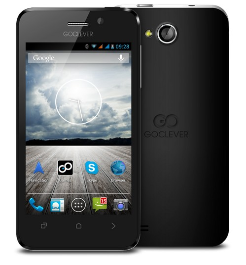 GoClever QUANTUM 4 - four-inch smartphone for Rs 899