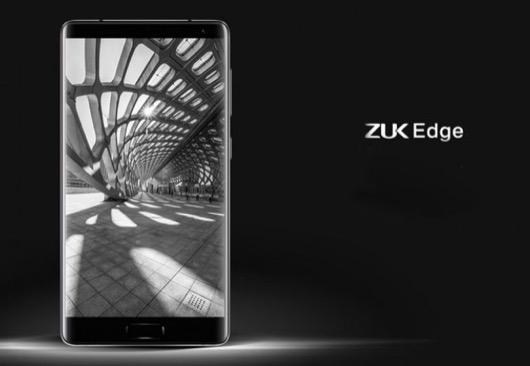 «Безрамочный» смартфон ZUK Edge представлен официально