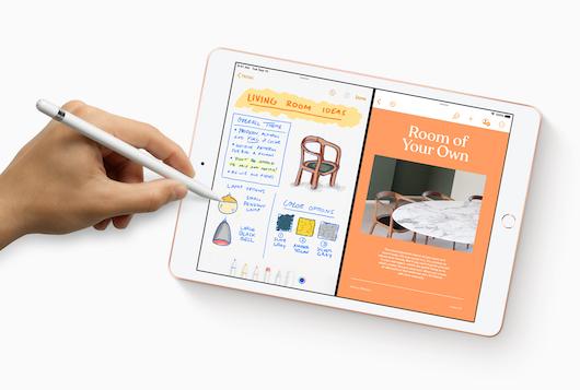Новый iPad с диагональю 10,2 дюйма будет предлагаться по цене от 329 долл