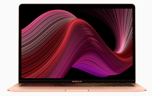 Новый MacBook Air: в два раза больше памяти и клавиатура Magic Keyboard