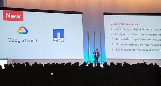NetApp и Google представили облачные решения