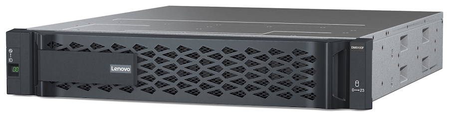 Дисковые all-flash массивы Lenovo ThinkSystem DM5100F нацелены на СМБ