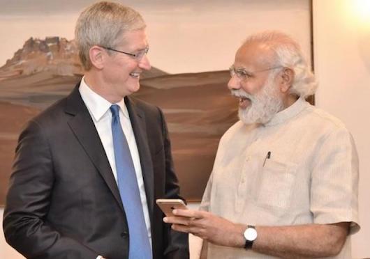 Apple может открыть производство вИндии