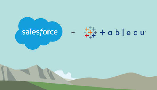 Salesforce приобретает Tableau за 15,7 млрд долл.