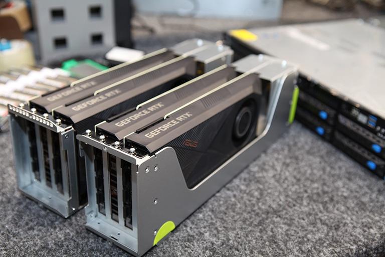 Servidores GPU desde el interior
