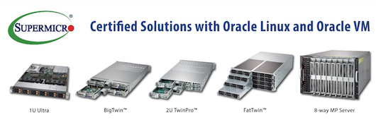 Supermicro расширяет поддержку программного стека Oracle
