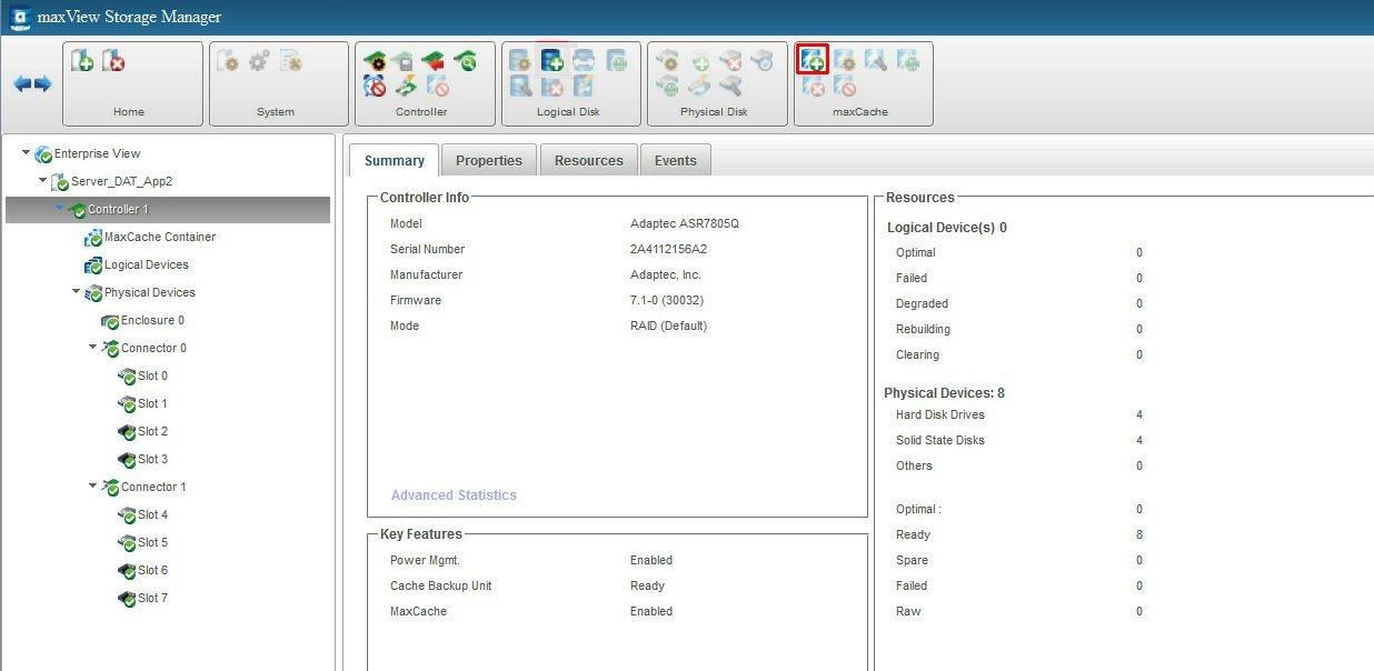 SSD-кэширование в массовых серверах: инструменты Adaptec и
