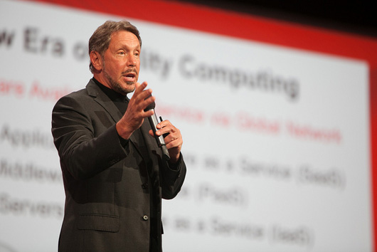 Oracle OpenWorld 2012 облака сгущаются