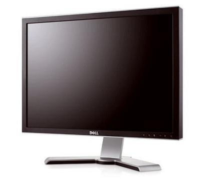 Dell UltraSharp 2408WFP первый монитор с DisplayPort