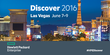 Hewlett Packard Enterprise Discover 2016 Conference