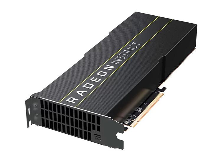 AMD представила первые 7-нм графические карты Radeon Instinct