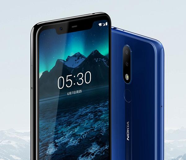 Nokia 5.1 Plus с поддержкой ИИ и 5,84-дюймовым экраном 19:9 стоит 150 долл.