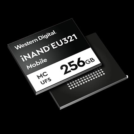 Western Digital разработала 96-слойный накопитель 3D NAND UFS 2.1 для мобильных устройств
