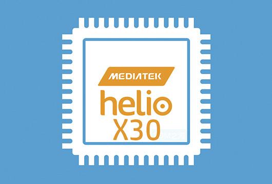 MediaTek Helio X30 10-нм чип с десятью ядрами и четырехъядерной графикой