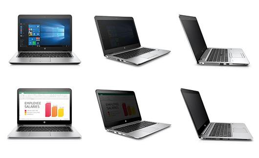 HPElitebook 840 и1040 оснастят защищёнными отподглядываний экранами