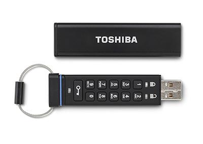 Toshiba оснастила флэшку аппаратным шифрованием