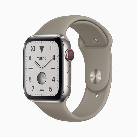 Apple Watch Series 5 оснащены всегда активным дисплеем Retina