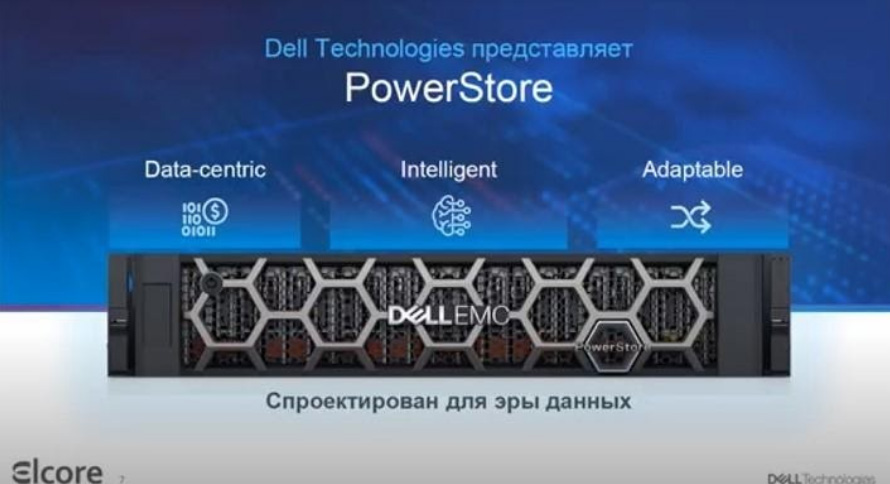 Вебинар Dell EMC PowerStore. Часть 1