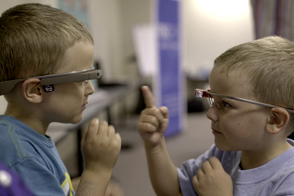 Google Glass лечит аутизм