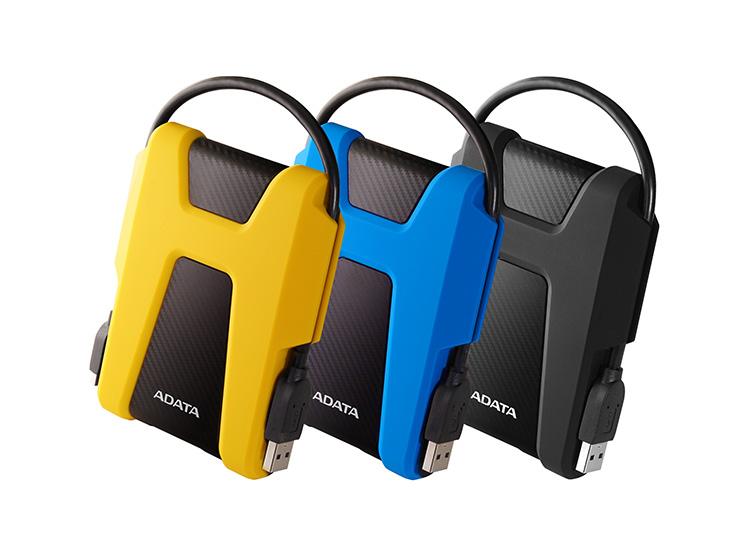 Защищенный внешний жесткий диск ADATA HD680 выдерживает падение с 1,22 м