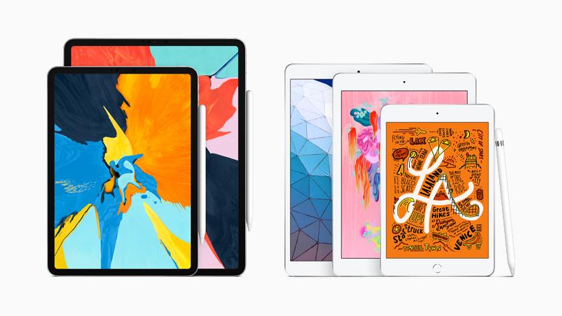 Apple обновила планшеты iPad Air и iPad mini поддержкой Apple Pencil, экранами Retina и чипами A12 Bionic