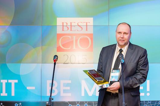 Фоторепортаж с церемонии награждения BEST CIO 2015