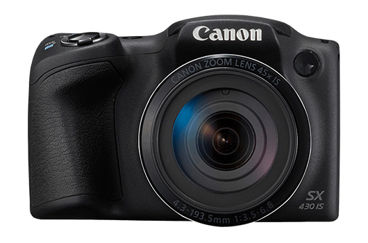 Canon представила суперзум PowerShot SX430 IS