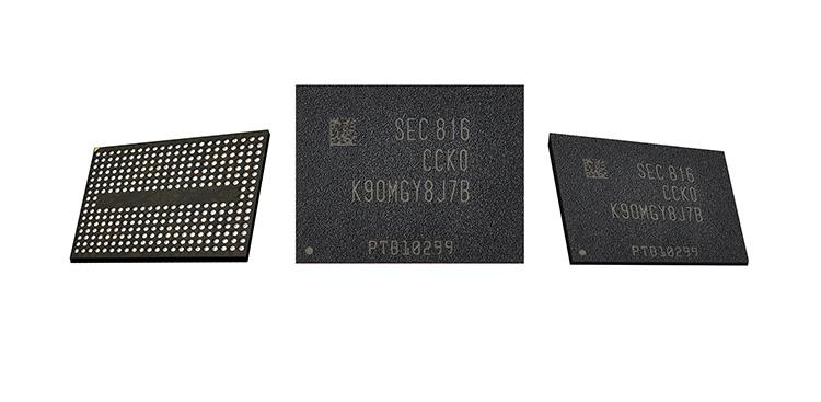 Samsung начинает выпуск накопителей на базе 90-слойных модулей V-NAND