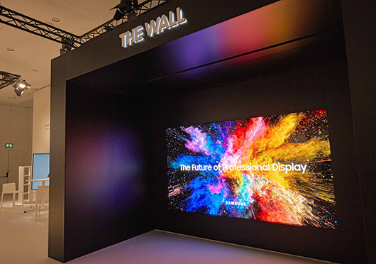 Samsung представила The Wall Professional