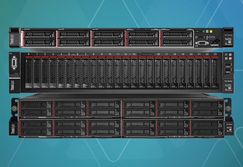 Lenovo представила ThinkAgile HX на базе процессоров AMD EPYC и Nutanix