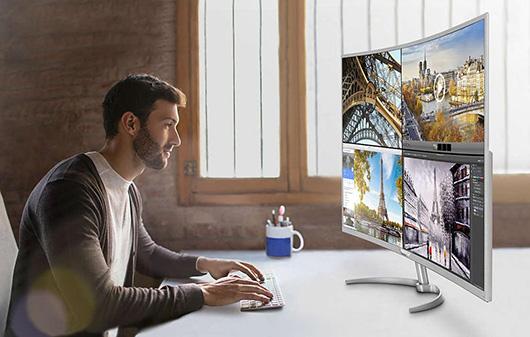 Philips выпускает изогнутый монитор согромной диагональю