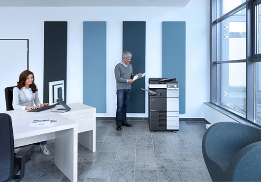 Konica Minolta анонсировала серию монохромных МФУ формата A3