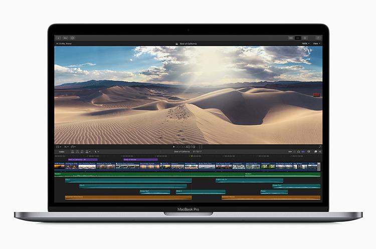 Apple обновила MacBook Pro, представив свой первый 8-ядерный ноутбук