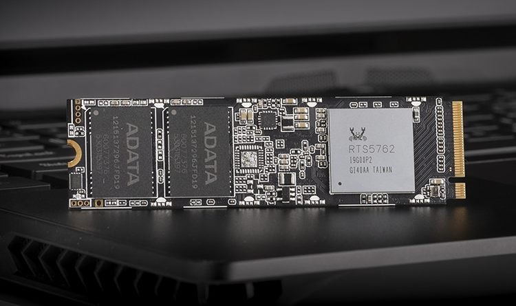 SSD-накопители ADATA XPG SX8100 М.2 обеспечивают скорость до 3500 МБ/с
