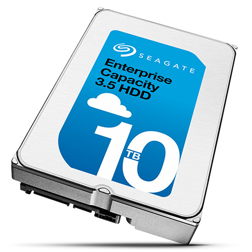 Seagate представила жесткие диски емкостью 10 ТБ