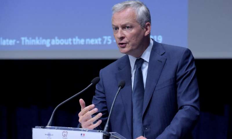 Франция призвала решить вопрос цифровых налогов на нынешнем саммите G7