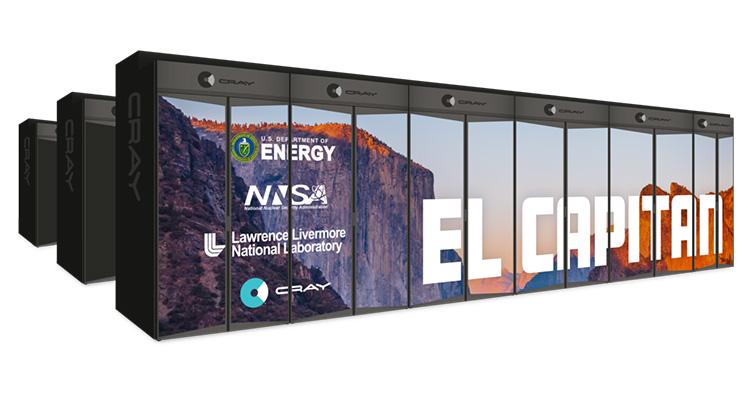 Система Cray El Capitan в одиночку превзойдёт 100 лучших суперкомпьютеров