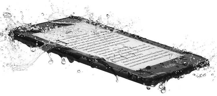 Amazon сделала Kindle Paperwhite водонепроницаемым