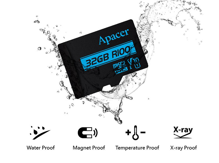 Apacer представила серию быстрых microSD-карт
