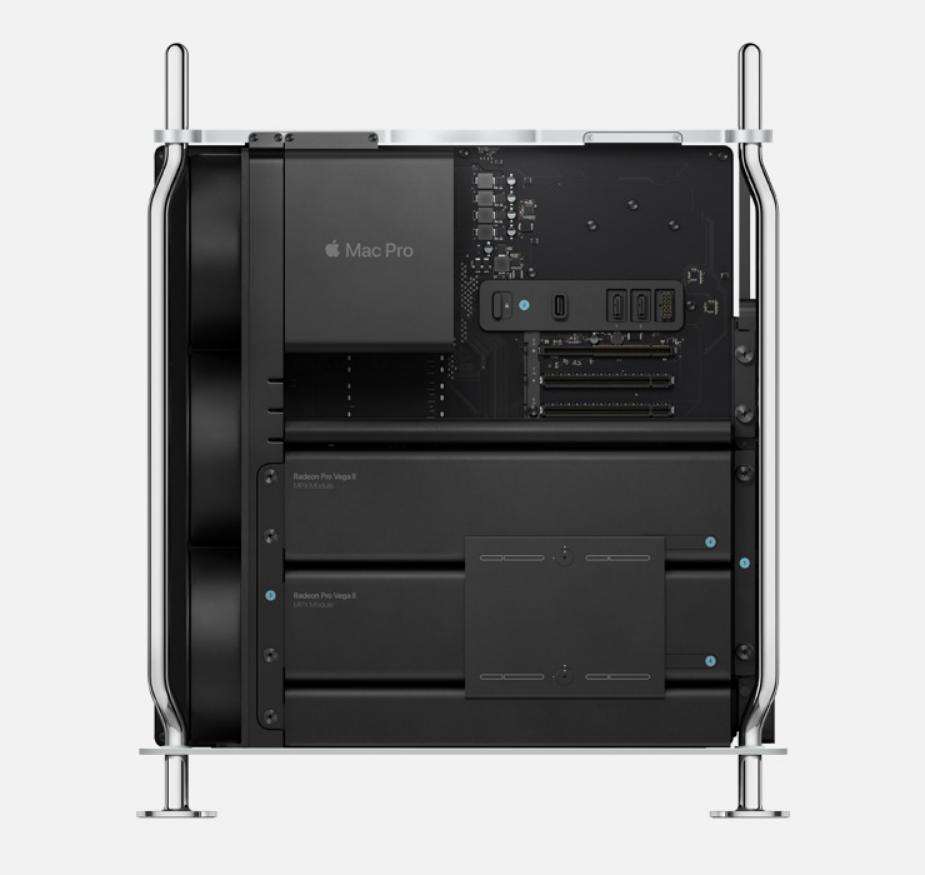 В Apple Mac Pro используется графика AMD Radeon Pro W5700X