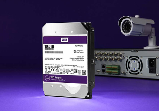 Western Digital выпустила жесткий диск серииWD Purple объемом 10 ТБ