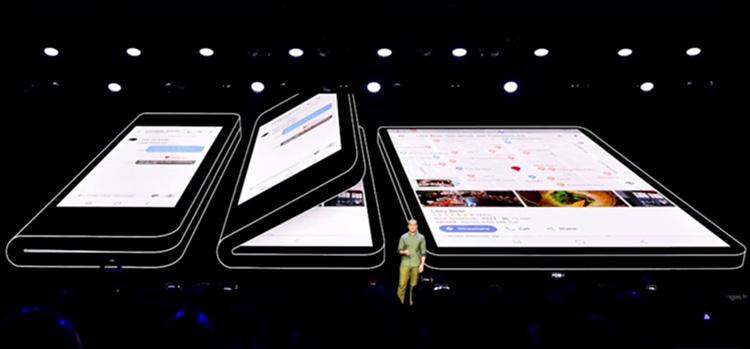 Первый складной смартфон Samsung выйдет в марте
