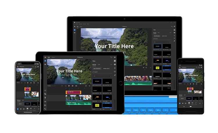 Adobe выпустила Premiere Rush CC для видеоблогеров